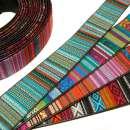 Taschen Gurtband ETHNO 15mm (15 Meter)