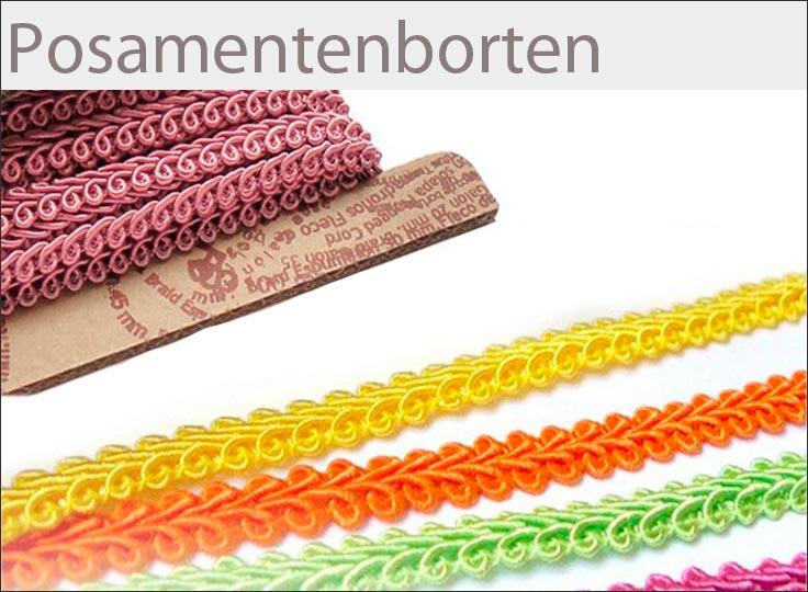 Borten und Bänder günstig online kaufen auf paillettenshop.de