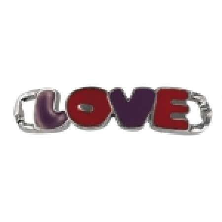 Rayher Shoe-Charm Love, 50x10mm,