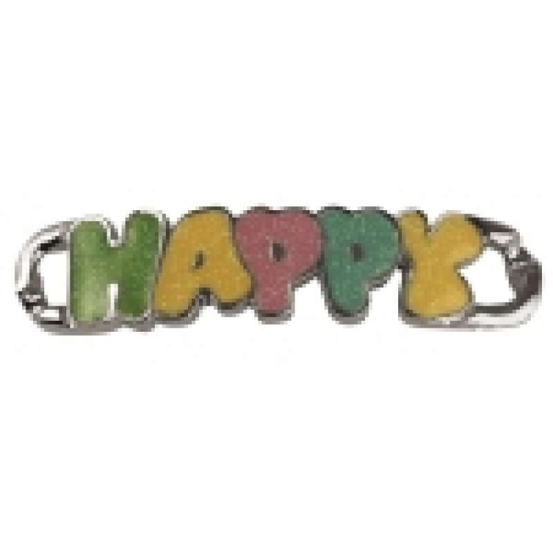 Rayher Shoe-Charm Happy 50x11mm