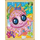 Sequin Art Paillettenbild Oktopus